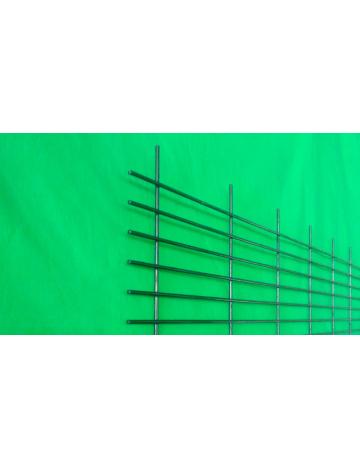 Sito, oczko 100x20mm, drut 3mm (galwaniczny czarny)