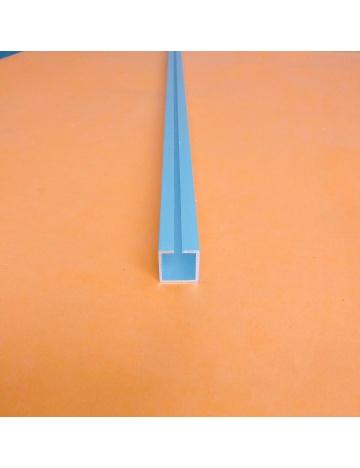 Profil aluminiowy HJ20 anodowany. z rowkiem