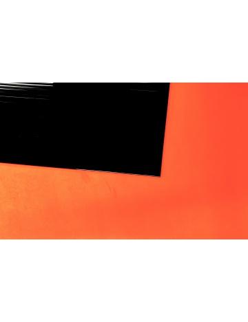 Podstawa z plastiku, czarna (210 x 100 cm)