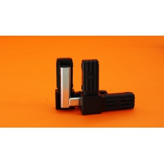 Złączki plastikowe  25x25, metalowy rdzeń