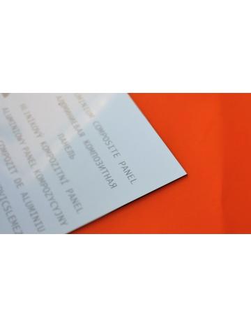 Płyta warstwowa, biała, 3mm (100 x 150cm)