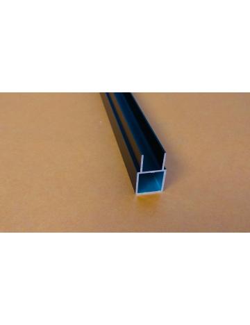 Profil aluminiowy (HJ15H1 czarny elox.)