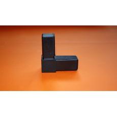 Złączki plastikowe 30x30, czarny