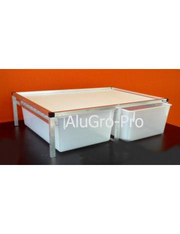 Rack Aluhobby T4 - podłoga, w tym pudełka
