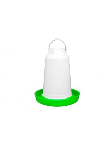 Podajnik drobiu 6L (czerwony / biały)