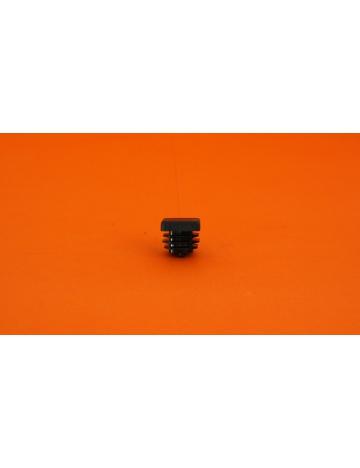 Wtyczka czarna do profili, 15x15x5mm