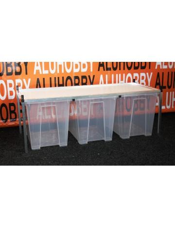 Rack Aluhobby K5 - podłoga, w tym pudełka