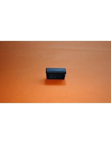 Zaślepka nakładana  czarna, 40X20X5mm