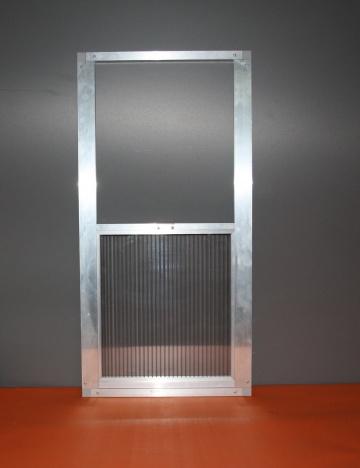 Okno wylotowe 80x40cm - 10mm