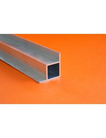 Hliníkový čtvercový jekl se 2 křidélky pravý úhel, 20x20x1,5mm