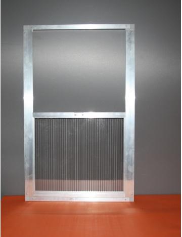 Okno wylotowe 77 x 50cm - 16mm
