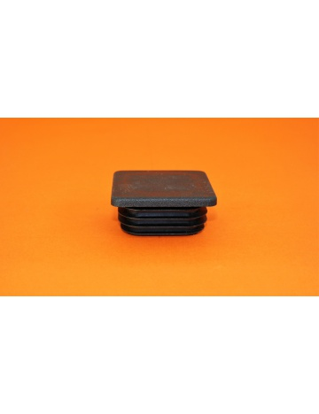 Zaślepka nakładana  czarna, 60x60x4mm