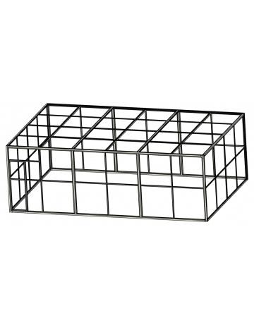 Woliera 6x4 - siatka, anodowana