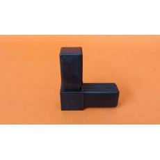Złączki plastikowe 30x30, metalowy rdzeń