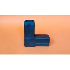 Złączki plastikowe 40x40HČ, czarny