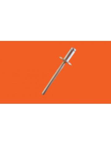 Nitowanie nitów (3,2 x 8mm średnica główki 6mm)