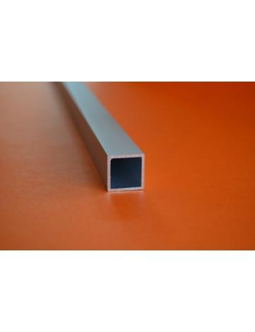 Hliníkový čtvercový jekl eloxovaný, 20x20x1,5mm