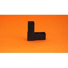 Złączki plastikowe 25x25, czarny