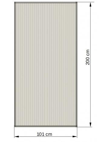 Rama aluminiowa z wypełnieniem 03