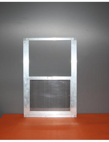 Okno wylotowe 60 x 34,5cm - 16mm
