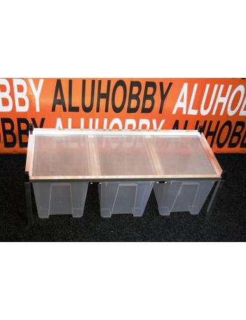 Rack Aluhobby K5 - sito sufitowe (podłoga, w tym pudełka)