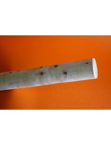 Drewniane drzewce dla dużych papug, 5 cm