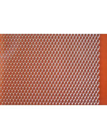Rozciągana siatka metalowa - aluminium, 4 x 2,2 mm oka