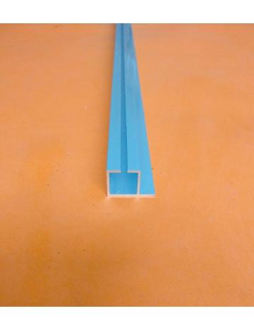 Profil aluminiowy HJ20K1 anodowany. z rowkiem